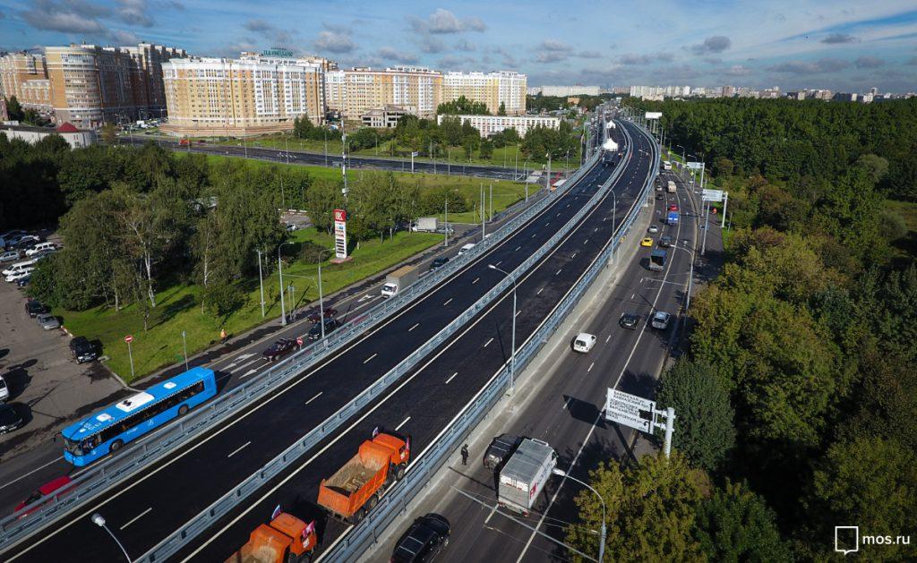 В Москве открыли эстакаду на Липецкой улице