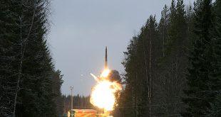 В «Плесецке» успешно прошел испытательный пуск шахтного «Тополь-М»