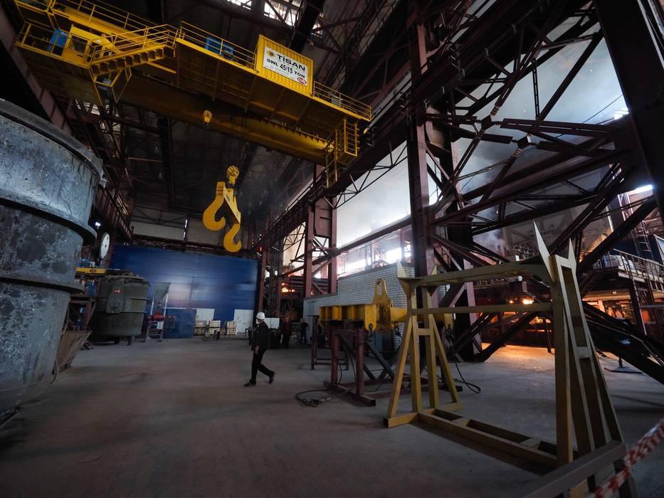 В Ставропольском крае открыли вторую очередь завода «СтавСталь»
