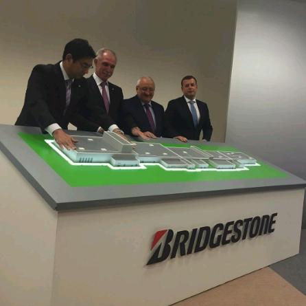 Строительство первого в России завода Bridgestone закончили в Ульяновске