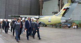 В Воронеже на летно-испытательную станцию передан Ан-148-100 для ВВС РФ