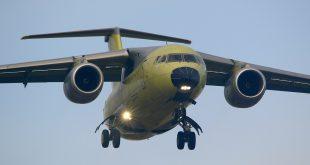 В Воронеже выпустили очередной новый самолет Ан-148
