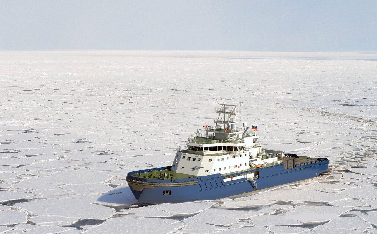В Выборге заложили новый ледокол «Обь»