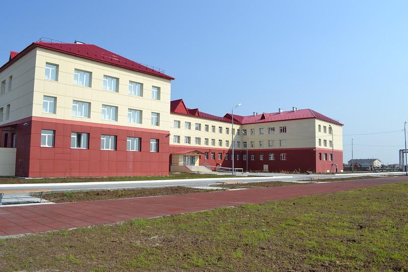 В с.Ныда (Ямал) открылась новая школа