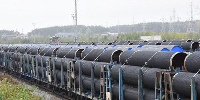 Выксунский металлургический завод начал отгрузку труб большого диаметра для «Северного потока — 2»