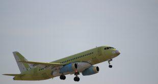 112-тый Сухой Суперджет 100 совершил свой первый полет