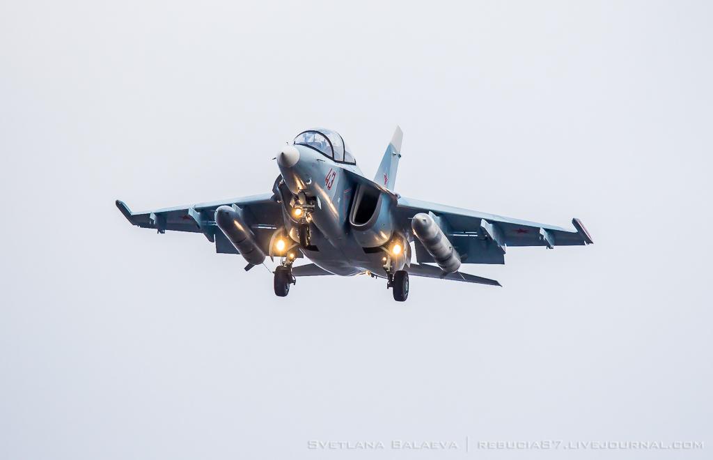 4 новых Як-130 получили ВВС России