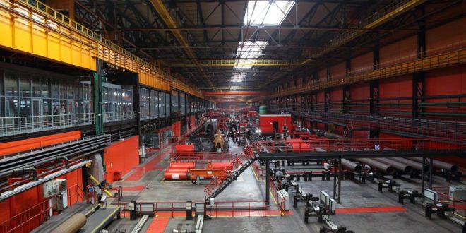 Челябинский трубопрокатный завод поставил в Польшу трубы для угольных шахт