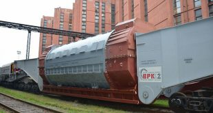 Для Белорусской АЭС «Силовые машины» отгрузили очередную партию оборудования