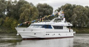 Для ВМФ в Навашино спустили на воду спецкатер