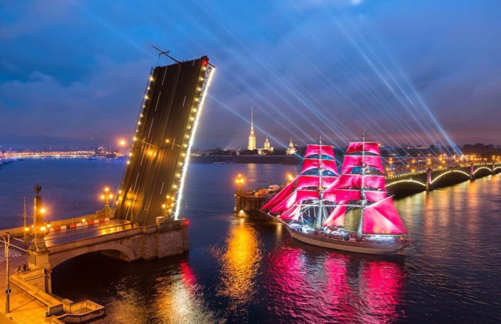 Фестиваль «Алые паруса» признали лучшим событием в Европе