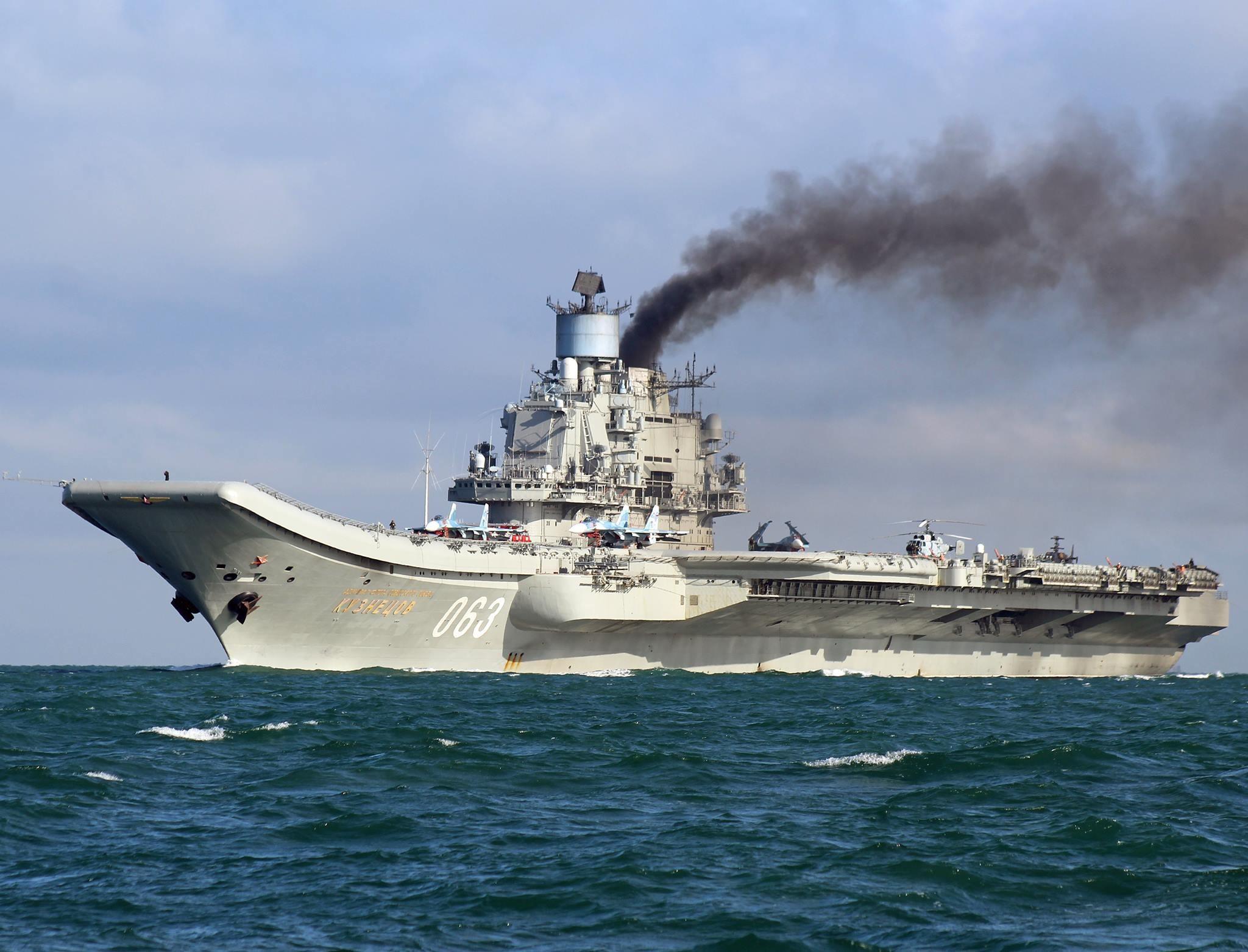 Флотилия ВМФ России во время прохода Ла-Манша (Фоторепортаж)