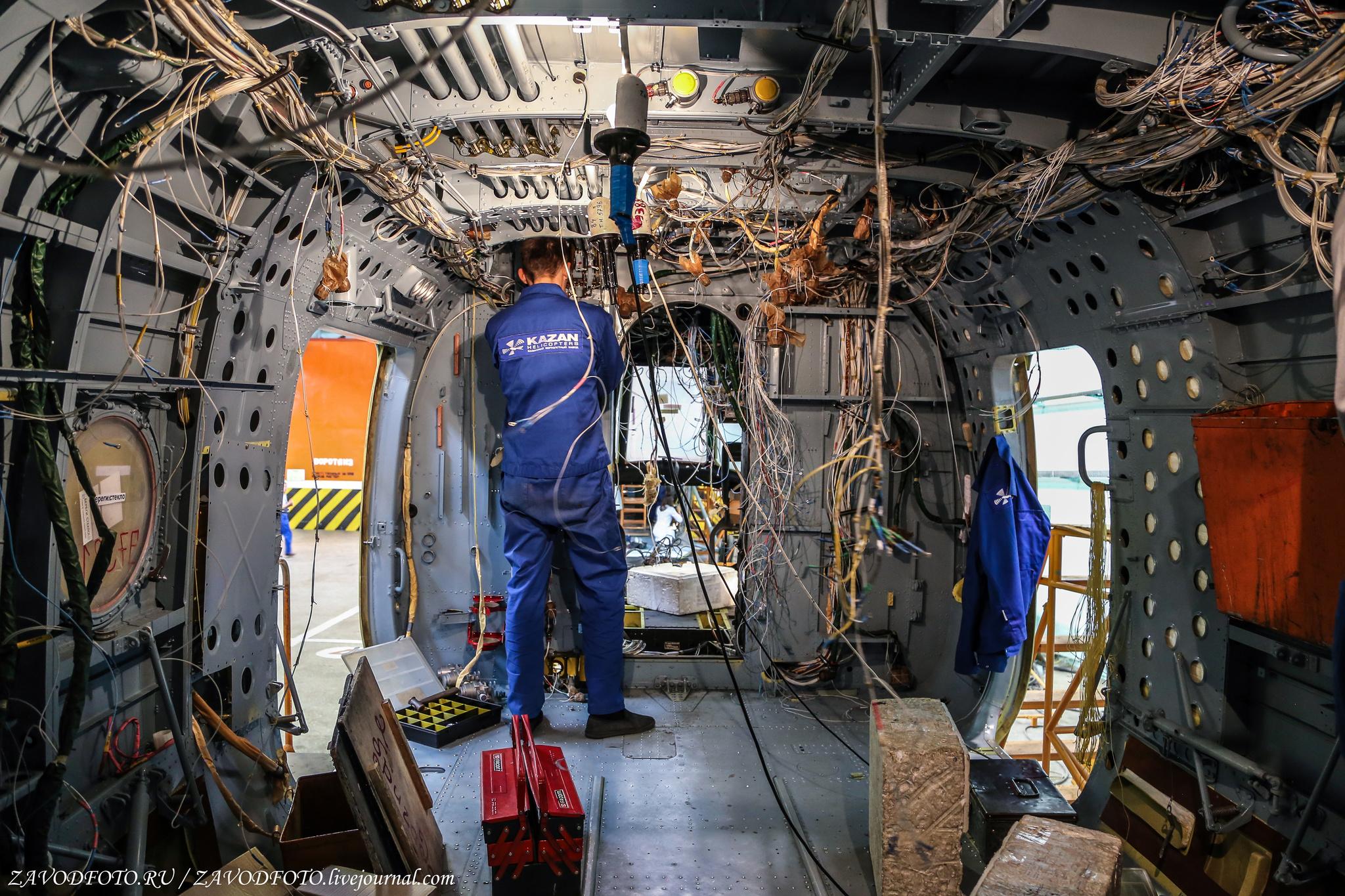 Фоторепортаж с Казанского вертолетного завода ()