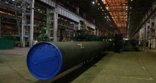 «Газпром» полностью перешел на отечественные трубы