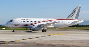 Ирландская авиакомпания CityJet получила свой третий Суперджет 100