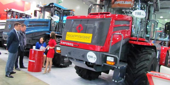 Линейка тракторов «Кировец» пополнилась новой моделью К-4