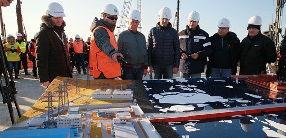 На Чукотке для первой в мире плавучей АЭС началось сооружение береговой инфраструктуры