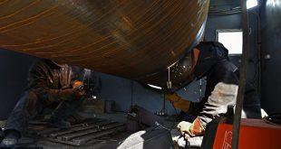 На Керченском мосту строители досрочно выполнили план по сооружению опор