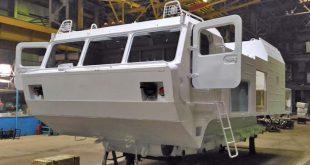 На Уралвагонзаводе начали выпуск новых гусеничных транспортеров