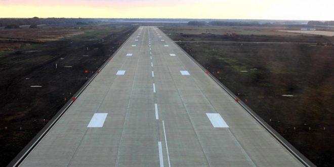 Новую ВПП открыли на авиабазе Кореновск