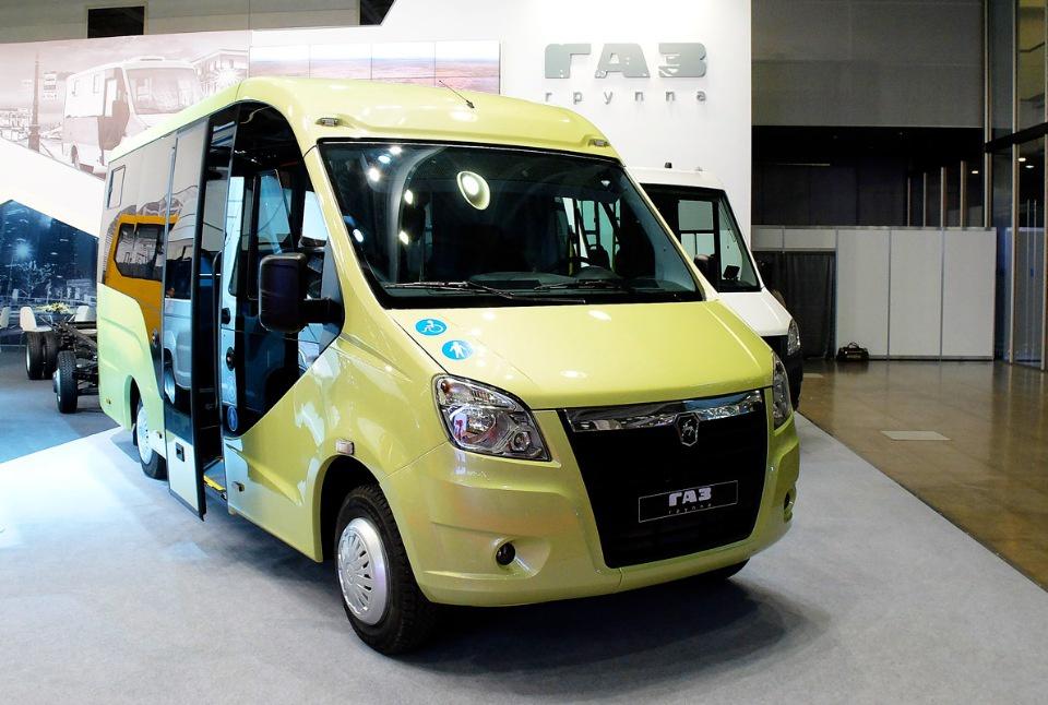 Новый низкопольный микроавтобус на базе ГАЗель Next