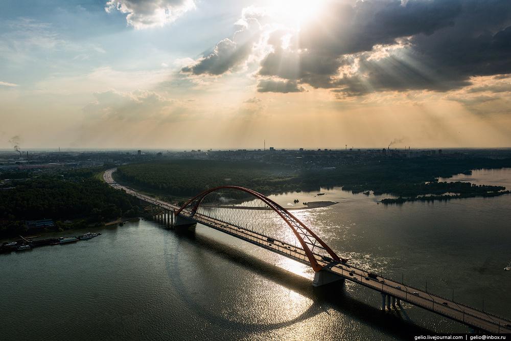 Проектировщиков новосибирского Бугринского моста отметили мировой премией