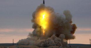 РВСН успешно провели запуск межконтинентальной баллистической ракеты РС-18