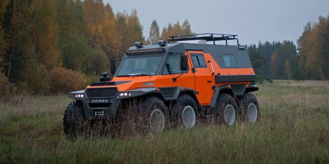 Российские вездеходы «Шаман» начали посталяться на экспорт