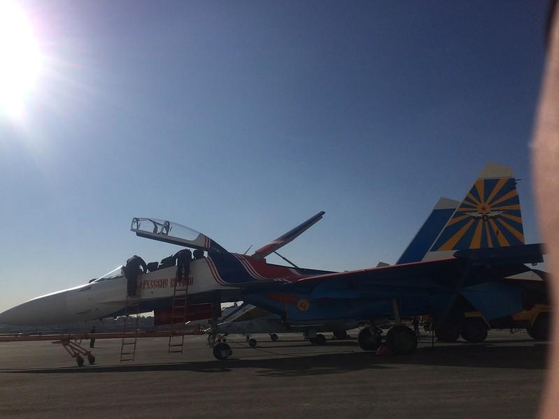 """""""Русские Витязи"""" получила еще четыре новых истребителя Су-30СМ"""