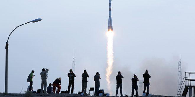 """""""Союз МС"""" успешно вышел на орбиту с новым экипажем МКС"""