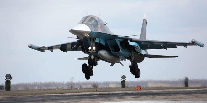 Третью партию Су-34 получили ВКС России за 2016