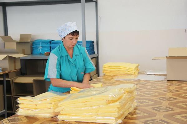 В Ивановской области открыли новое производство махровых изделий