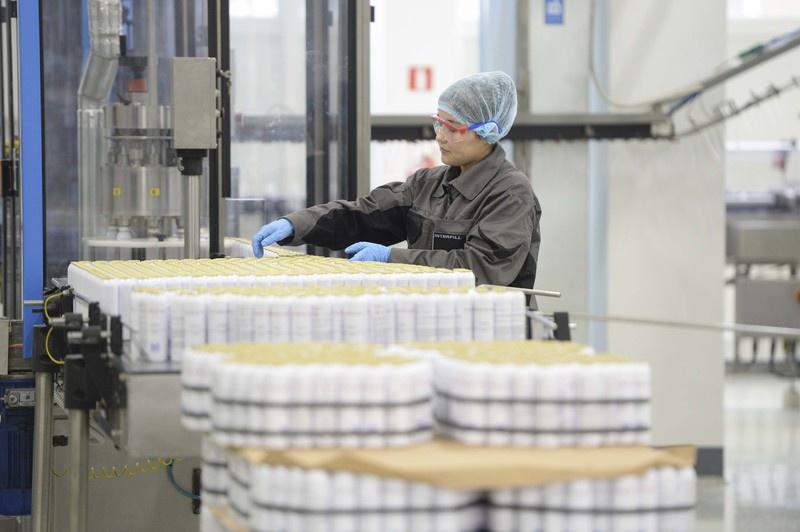 В Ленинградской области открыли новую производственную линия завода «Интерфилл»