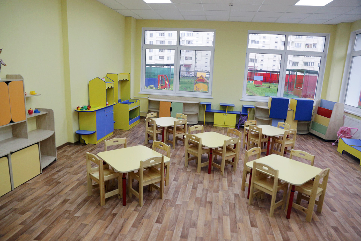 В Московской области открылся новый детский сад