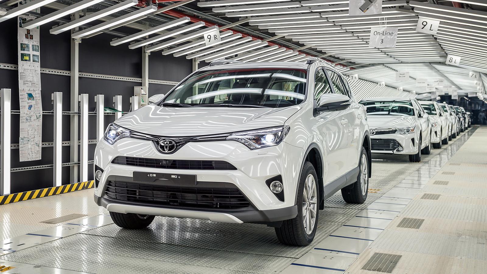 В Санкт-Петербурге начали производить Toyota RAV4
