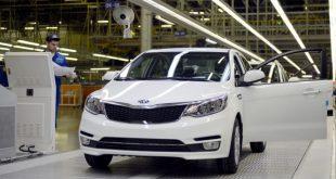 В Санкт-Петербурге выпустили 500 000-ный автомобиль Kia Rio