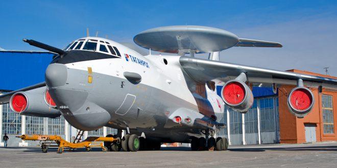 В Таганроге показали четвертый модернизированный самолет А-50У
