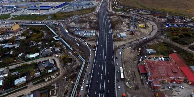 В Тюмени построили новую транспортную развязку за рекордный срок