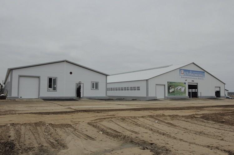 В Вологодской области запустили первую очередь животноводческого комплекса