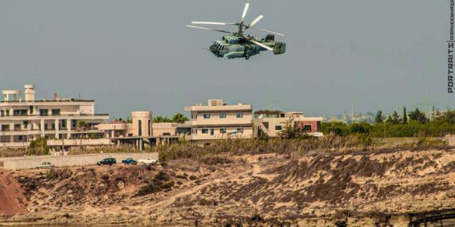 В небе Сирии засекли новый вертолет радиолокационного дозора Ка-35