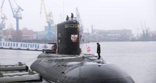 ВМФ России получило новую подводную лодку Великий Новгород2