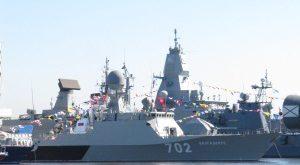 """Экипаж корабля """"Волгодонск"""" провел внезапное особое учение"""