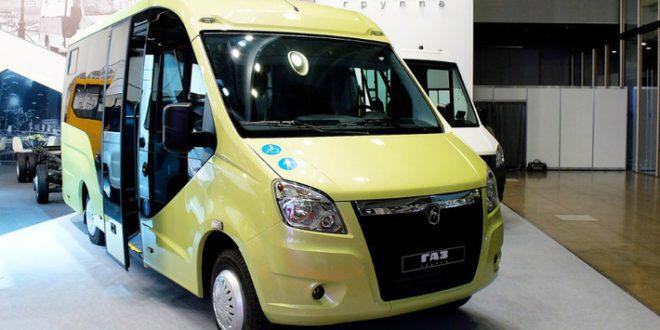 «Группа ГАЗ» представила низкопольный микроавтобус ГАЗель Next (A68R52)