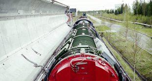 Испытан ракетный поезд