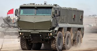 """Новейшие бронеавтомобили """"Тайфун-К"""" поступят на вооружение ЗВО"""