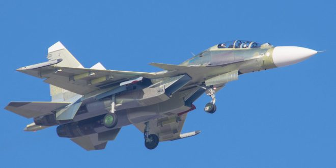 Очередной новый Су-30СМ для ВМФ России