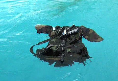 Плавающими бронежилетами оснастили морпехов