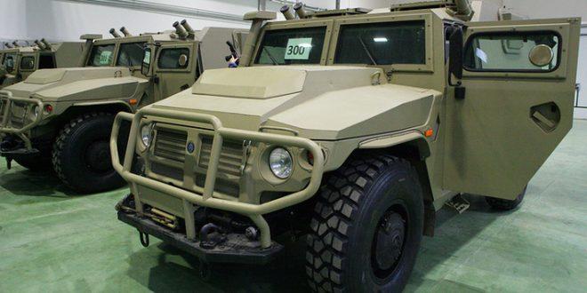 Псковский спецназ получил партию бронеавтомобилей «Тигр»