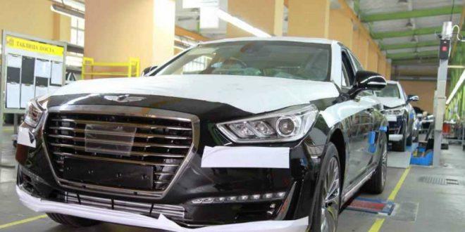 В Калининграде на «Автоторе» начали производство Genesis G90