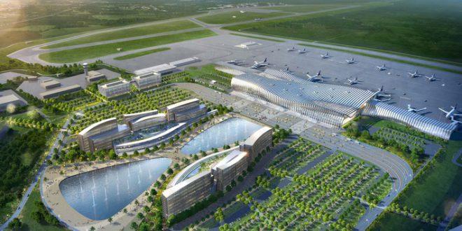 В Симферополе началось строительство нового терминала международного аэропорта